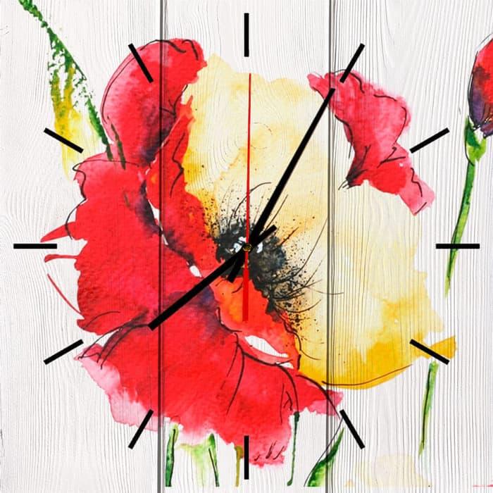 Настенные часы Дом Корлеоне Мак 60x60 см