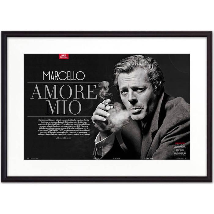Постер в рамке Дом Корлеоне Марчелло Мастрояни 40x60 см