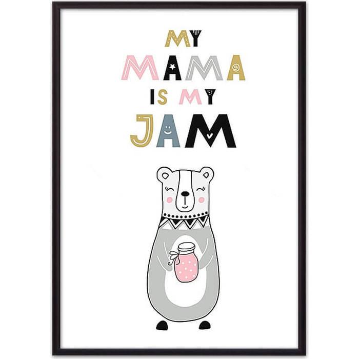 Постер в рамке Дом Корлеоне Медведица Jam 21x30 см