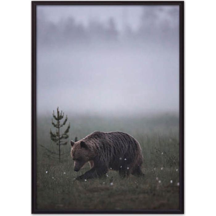 Постер в рамке Дом Корлеоне Медведь 40x60 см постер в рамке дом корлеоне be yourself 40x60 см