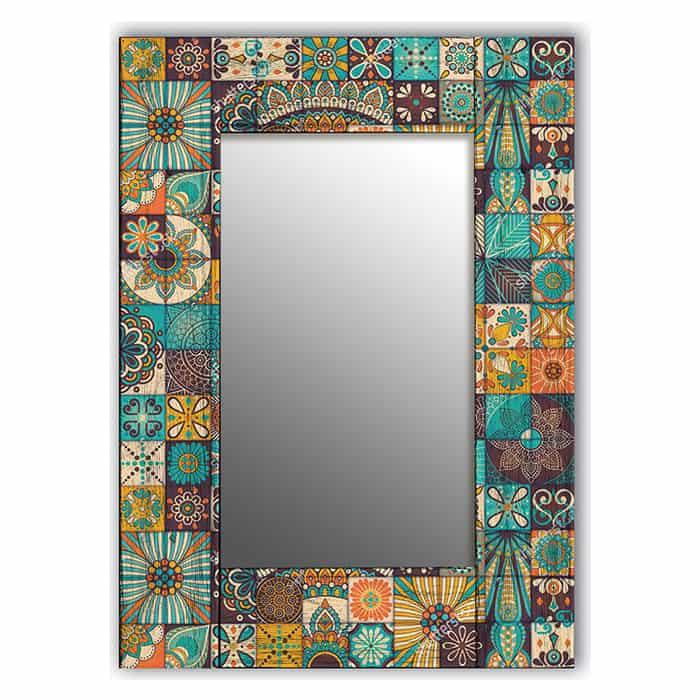 Настенное зеркало Дом Корлеоне Мозаика 75x110 см