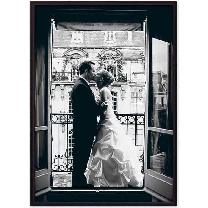 Фото - Постер в рамке Дом Корлеоне Молодожены Париж 40x60 см постер в рамке дом корлеоне гаргулья париж 40x60 см