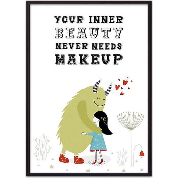 Постер в рамке Дом Корлеоне Монстр Beauty 50x70 см