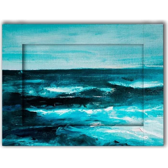 Картина с арт рамой Дом Корлеоне Море 80x100 см