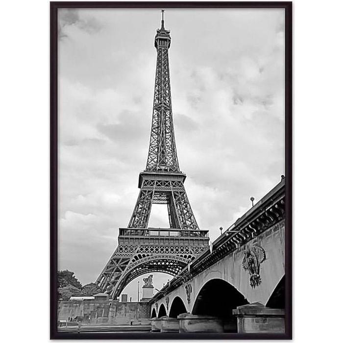 Постер в рамке Дом Корлеоне Мост и Эйфелева башня 50x70 см недорого