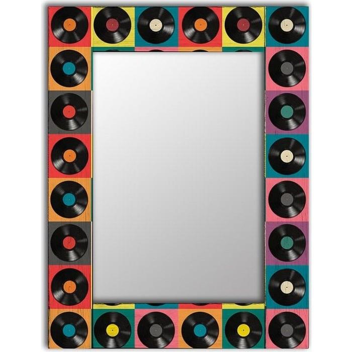 Настенное зеркало Дом Корлеоне Музыка 80x80 см