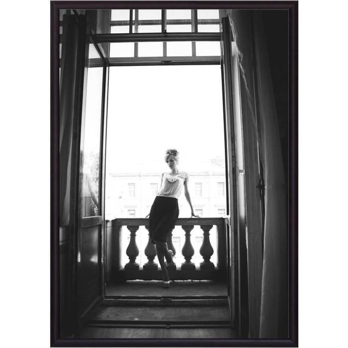Постер в рамке Дом Корлеоне На балконе 30x40 см