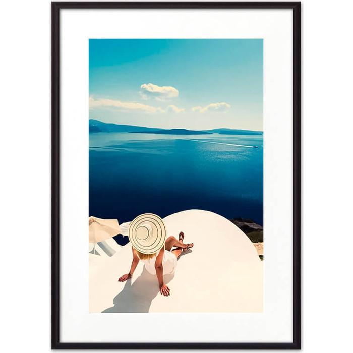 Постер в рамке Дом Корлеоне На отдыхе 40x60 см