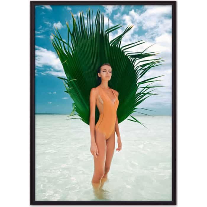 Постер в рамке Дом Корлеоне На пляже 30x40 см