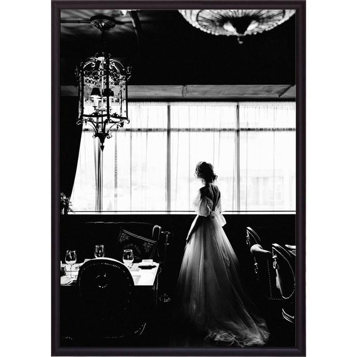 Постер в рамке Дом Корлеоне Невеста 30x40 см
