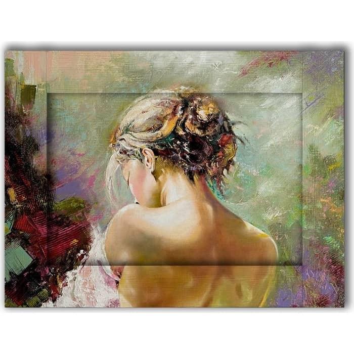 Картина с арт рамой Дом Корлеоне Нежность 80x100 см