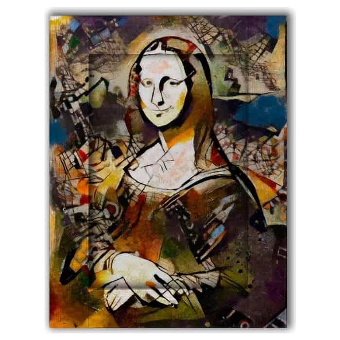 Картина с арт рамой Дом Корлеоне Новая Джаконда 80x100 см