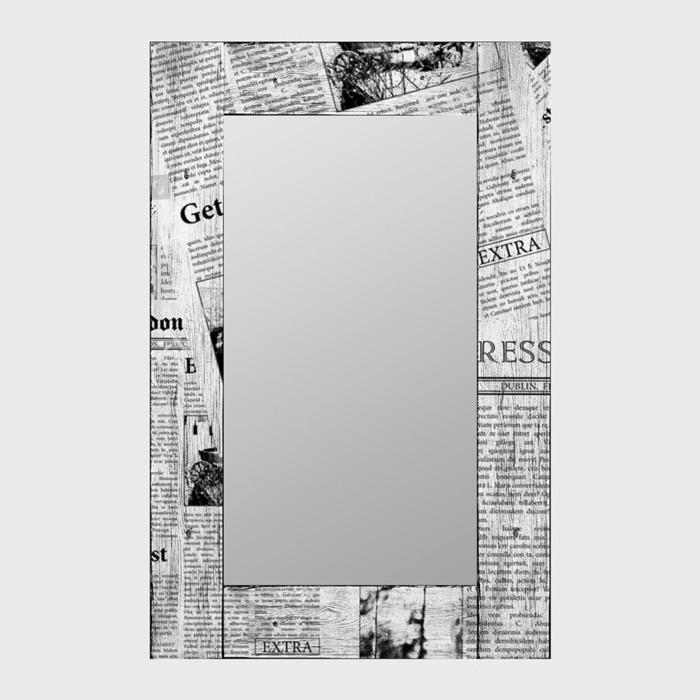 Настенное зеркало Дом Корлеоне Ньюз Вик 65x65 см