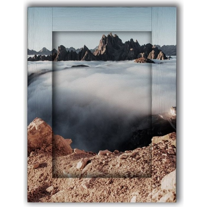 Картина с арт рамой Дом Корлеоне Облака 70x90 см