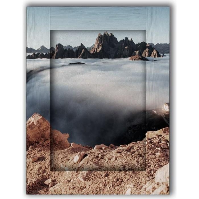 Картина с арт рамой Дом Корлеоне Облака 80x100 см