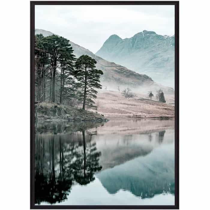 цена Постер в рамке Дом Корлеоне Озеро 50x70 см онлайн в 2017 году