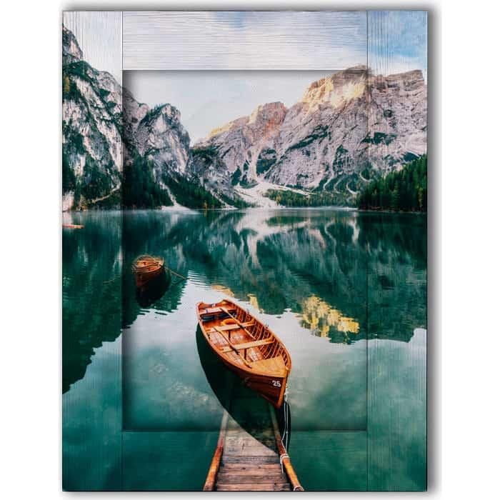 цена Картина с арт рамой Дом Корлеоне Озеро Брайес 70x90 см онлайн в 2017 году