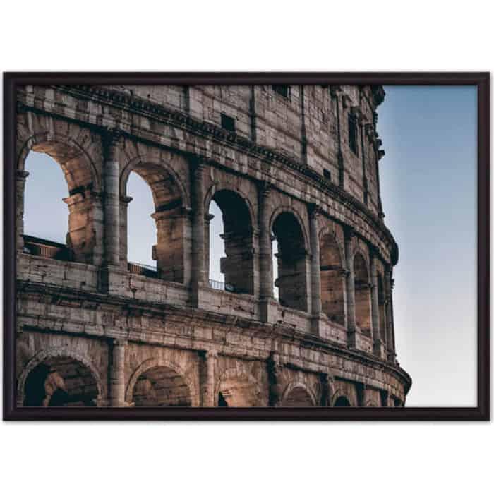 Постер в рамке Дом Корлеоне Окна Колизея 30x40 см