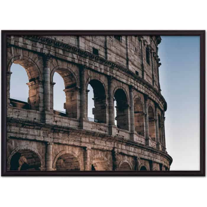 Постер в рамке Дом Корлеоне Окна Колизея 50x70 см