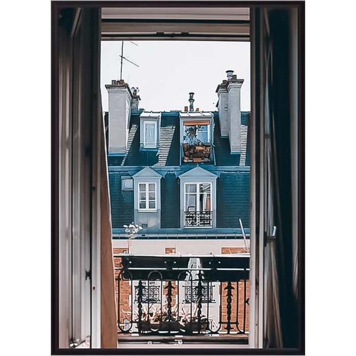 Фото - Постер в рамке Дом Корлеоне Окно в Париж 40x60 см постер в рамке дом корлеоне гаргулья париж 40x60 см