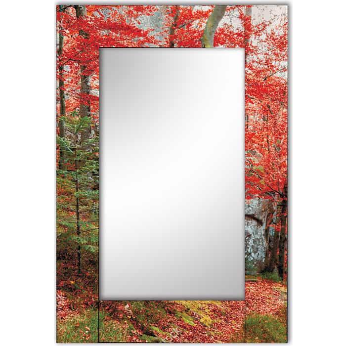 Настенное зеркало Дом Корлеоне Осень 75x110 см