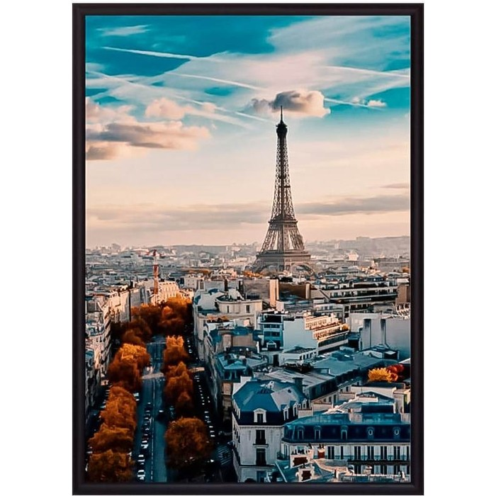 Постер в рамке Дом Корлеоне Осень в Париже 30x40 см постер в рамке дом корлеоне в париже 30x40 см