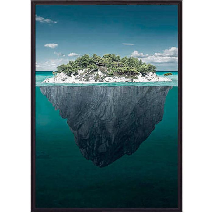 Постер в рамке Дом Корлеоне Остров 50x70 см