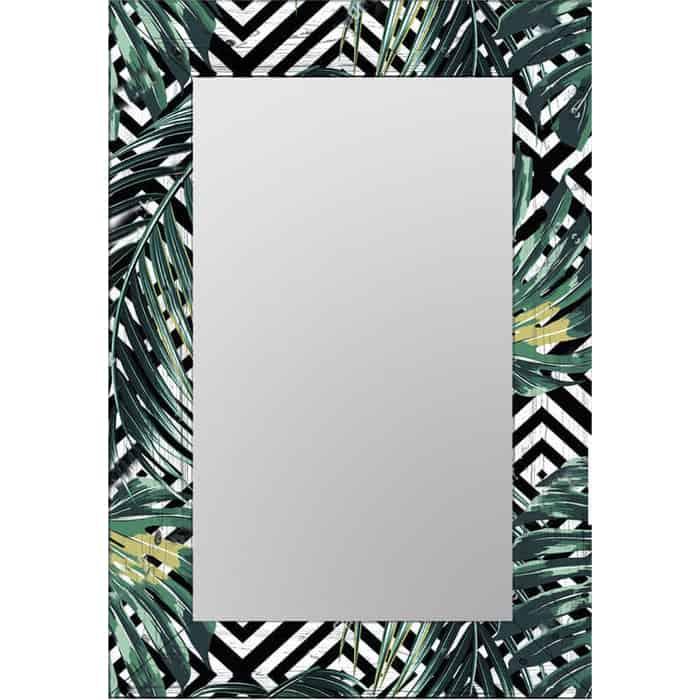 Настенное зеркало Дом Корлеоне Пальмовые листья 65x80 см
