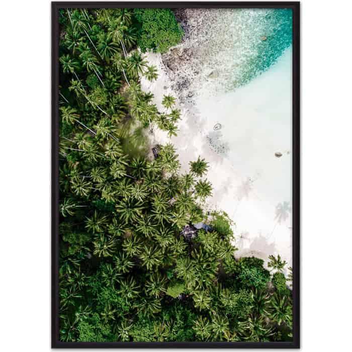 Постер в рамке Дом Корлеоне Пальмовый лес 40x60 см