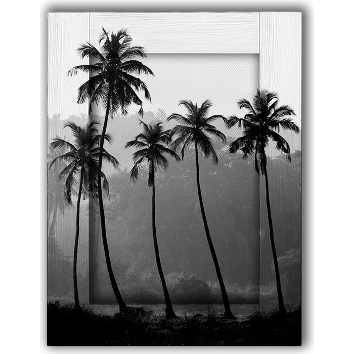Картина с арт рамой Дом Корлеоне Пальмы 60x80 см