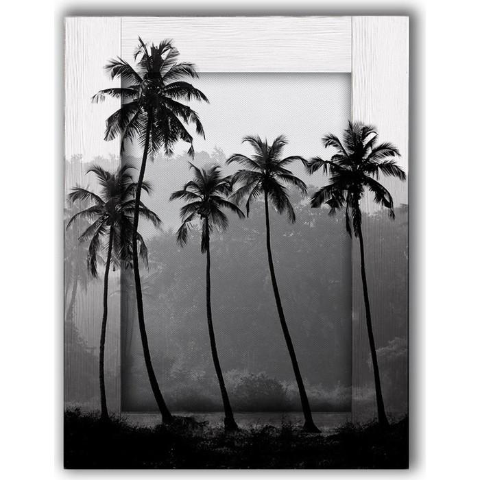 Картина с арт рамой Дом Корлеоне Пальмы 70x90 см