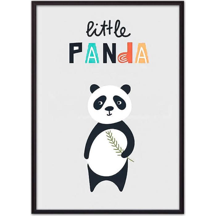 Постер в рамке Дом Корлеоне Панда Little panda 21x30 см