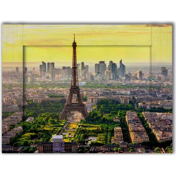 Картина с арт рамой Дом Корлеоне Панорама Париж 45x55 см