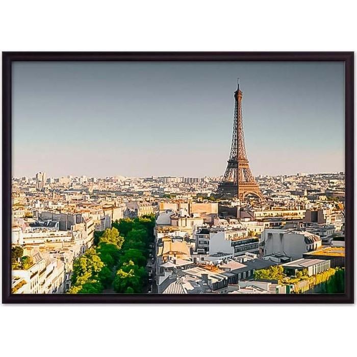 Постер в рамке Дом Корлеоне Париж 50x70 см постер в рамке дом корлеоне метро париж 50x70 см