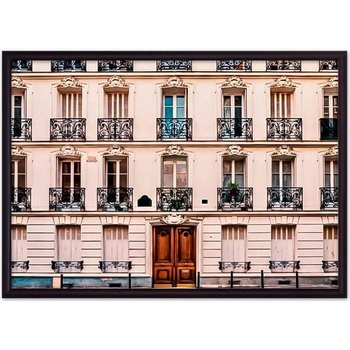 Постер в рамке Дом Корлеоне Парижские окна 30x40 см