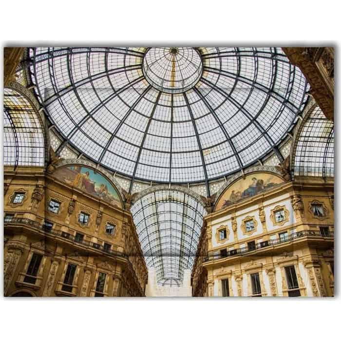 Картина с арт рамой Дом Корлеоне Пассаж Милан 80x100 см