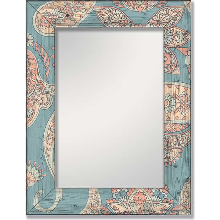Фото - Настенное зеркало Дом Корлеоне Пейсли 75x140 см настенное зеркало дом корлеоне дикая природа 75x140 см