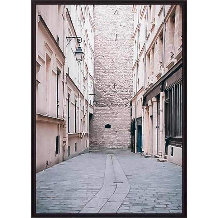 Постер в рамке Дом Корлеоне Переулок Париж 50x70 см постер в рамке дом корлеоне метро париж 50x70 см