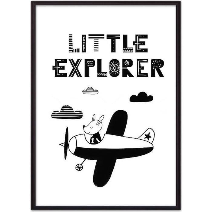 Постер в рамке Дом Корлеоне Пес Little explorer 50x70 см
