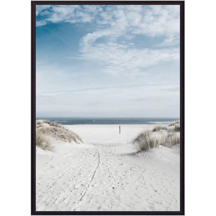 Постер в рамке Дом Корлеоне Песчаный пляж 21x30 см