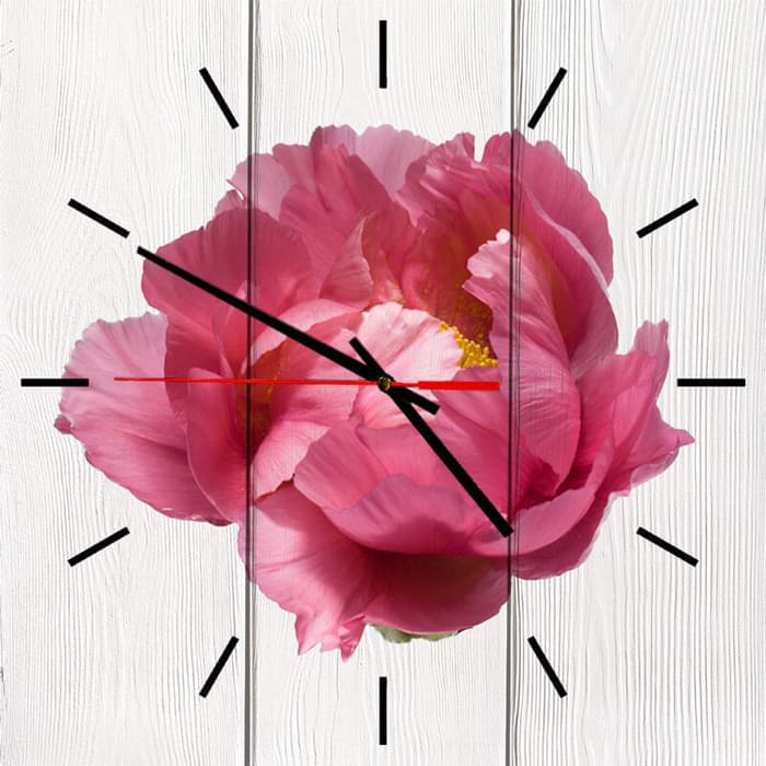 Фото - Настенные часы Дом Корлеоне Пион 30x30 см bolero bl 01 30x30