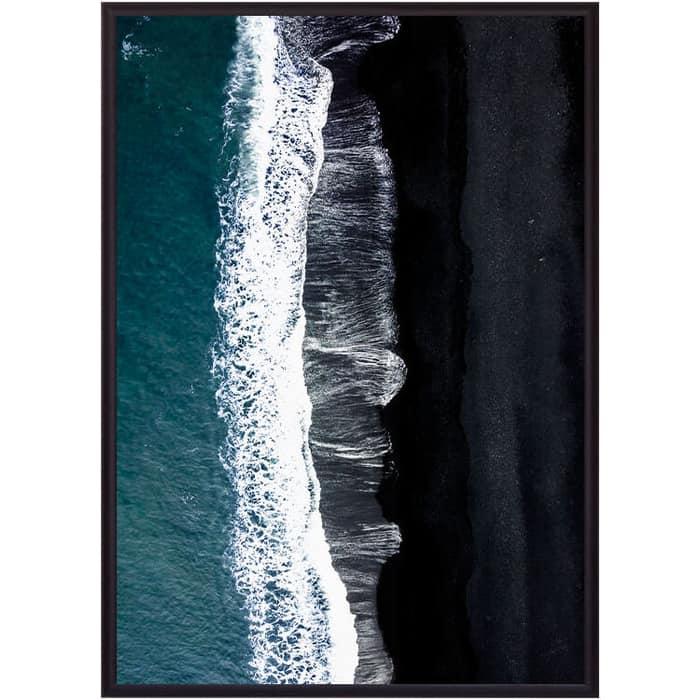 Постер в рамке Дом Корлеоне Пляж Вик 50x70 см