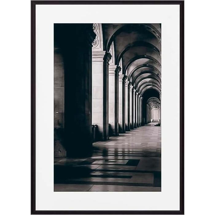 Постер в рамке Дом Корлеоне Портик Лувр 40x60 см