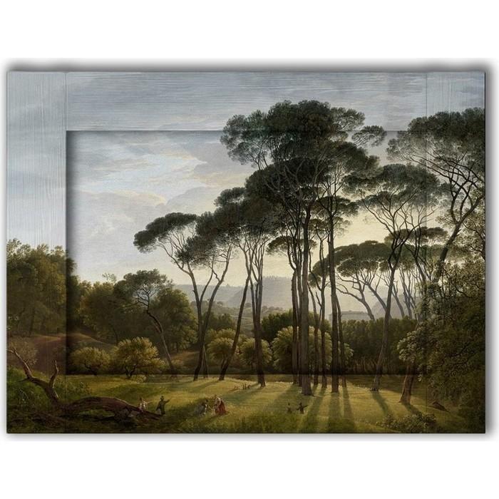 Картина с арт рамой Дом Корлеоне Прогулка 60x80 см картина с арт рамой дом корлеоне у причала 60x80 см