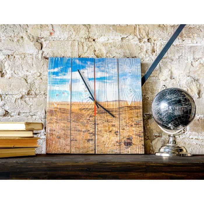 Настенные часы Дом Корлеоне Пустыня Техаса 40x40 см