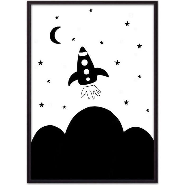 Постер в рамке Дом Корлеоне Ракета 50x70 см