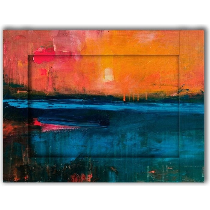 Картина с арт рамой Дом Корлеоне Рассвет 60x80 см