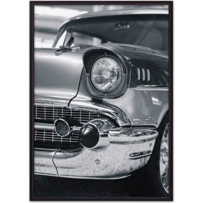 Постер в рамке Дом Корлеоне Ретро авто 40x60 см