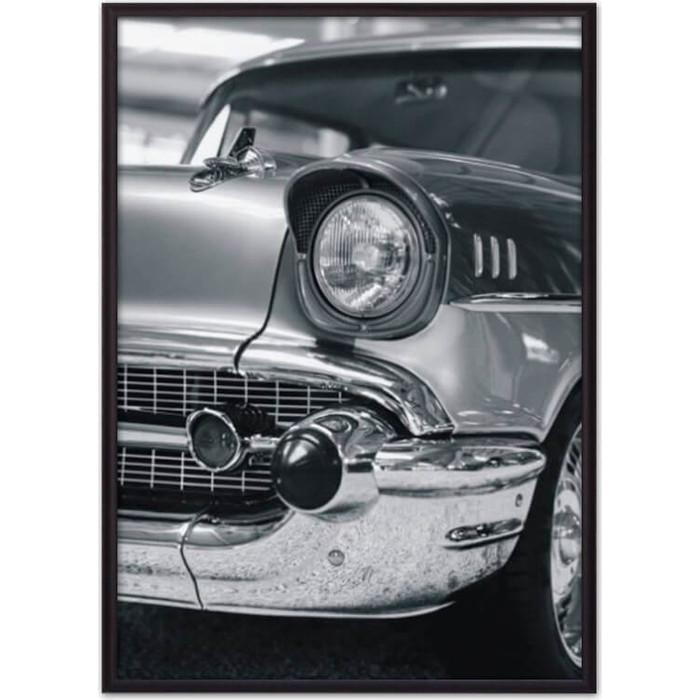 Постер в рамке Дом Корлеоне Ретро авто 50x70 см