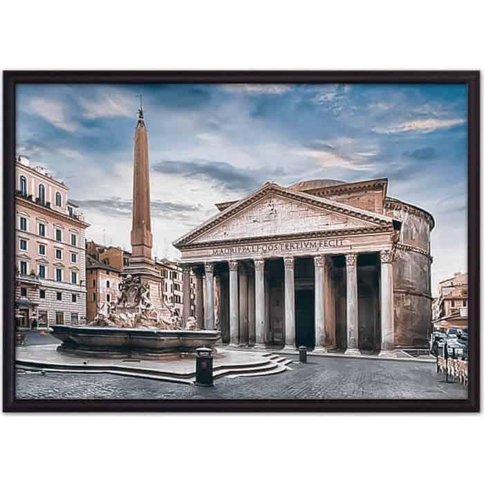 Постер в рамке Дом Корлеоне Римский Пантеон 50x70 см
